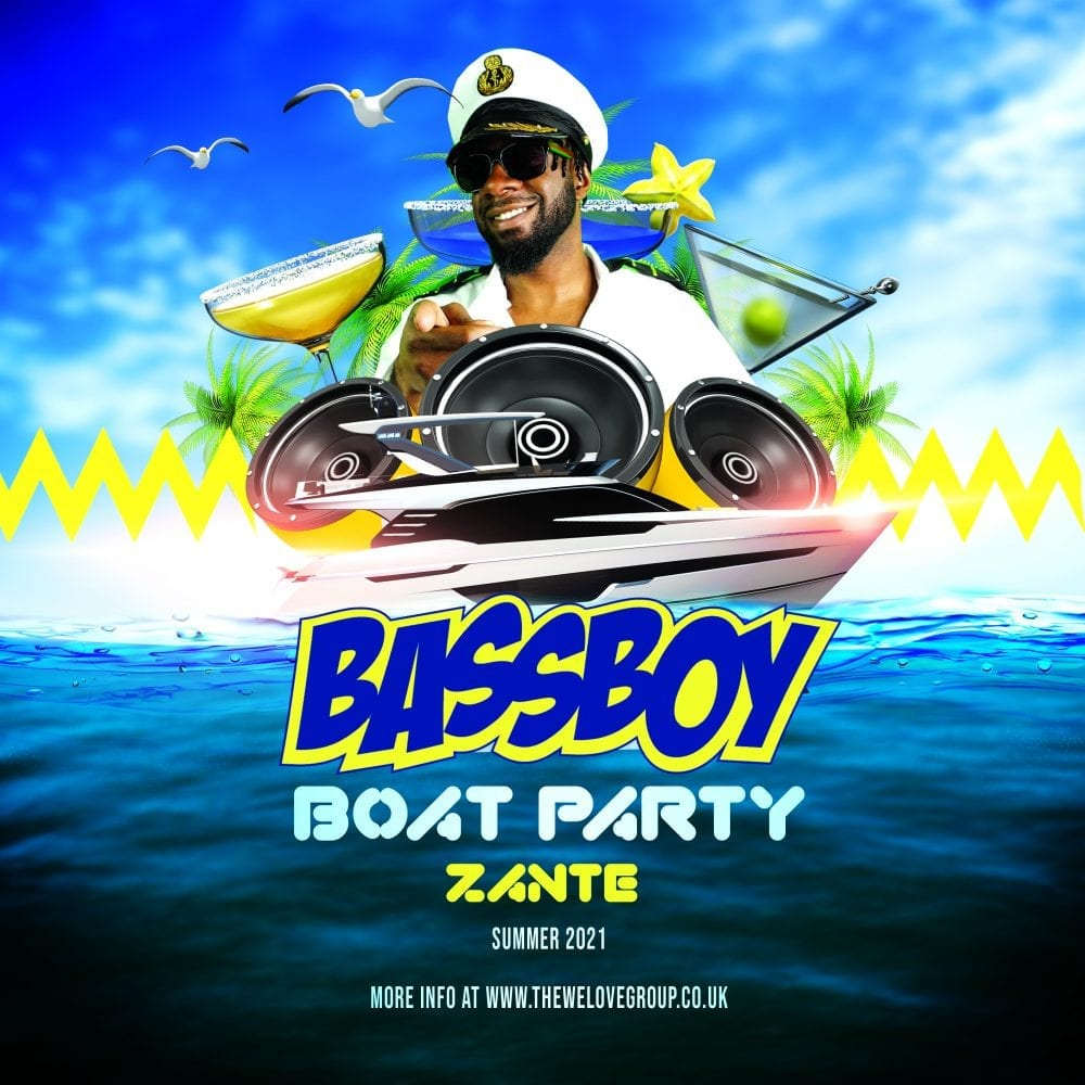 Bassboy Boat Party Zante