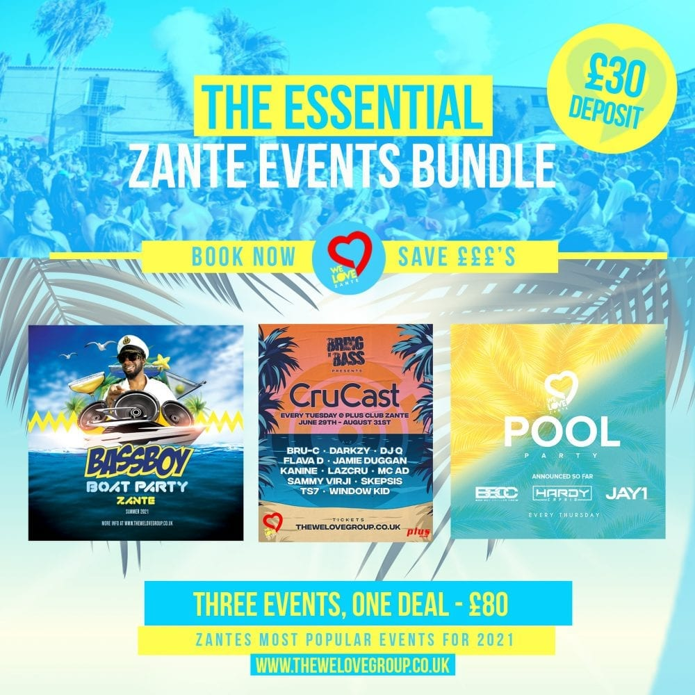 We Love Zante Bundle